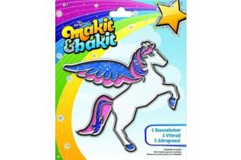 (1 PACK) - Colorbok Makit and Bakit Suncatcher Kit, Pegasus