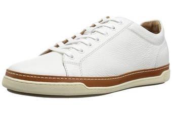 (11.5 UK, White Grain) - Allen Edmonds Men's Porter Derby Sneaker