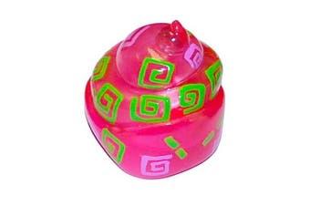 Xia-Xia Crab Shell - Pink/Green