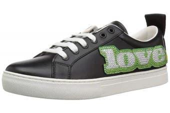 (40 M EU (10 US), Black/Multi) - Marc Jacobs Women's Love Embellished Empire Sneaker