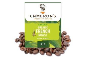 (Organic French Roast, 1.8kg) - Cameron's Coffee Organic French Roast, 1.8kg
