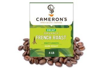 (Organic Decaf French Roast, 1.8kg) - Cameron's Coffee Decaf French Roast, 1.8kg