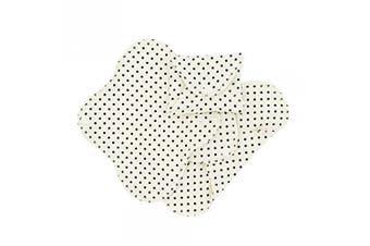 (Black Dots, Panty (9x20cm)) - ImseVimse Washable Women Sani Military Pads
