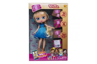 (Willa) - Jay at Play Boxy Girls Blonde with Blue Dress
