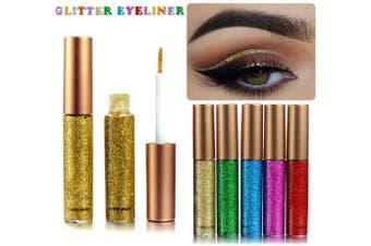 (5PC-2) - Coosa Glitter Liquid Eyeliner 5PCS Long Lasting Waterproof Sparkling Eyeliner Eye Shadow Pen – 5PCS-2 …