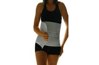 """(60cm  - 90cm  (Around Waist), 10"""" High) - Alpha Medical Abdominal Binder Support Wrap/Surgical Binder/Hernia Support/Abdominal Hernia Reduction Device. L0625 (25cm High ; 60cm - 90cm Around Waist)"""