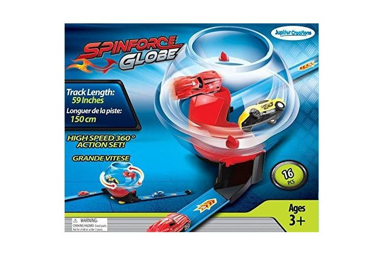 SpinForce Globe Car Track