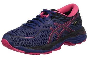 (5.5 UK, Blue (Indigo Blue/Black/Cosmo Pink 4990)) - Asics Women's Gel-Cumulus 19 G-Tx Running Shoes