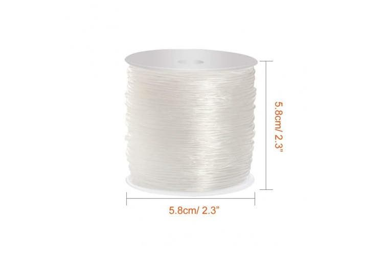 (1.5 mm) - Paxcoo 1.5mm Bracelet String Elastic Stretch Bead Cord for Jewellery Making and bracelet Making