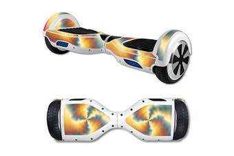 (Eye Of The Storm) - MightySkins Skin For Self Balancing Mini Scooter Hover Board - Eye Of The Storm | Protective, Durable, and Unique Vinyl Decal wrap cover | Easy To Apply, Remove, and Change Styles | Made in the USA