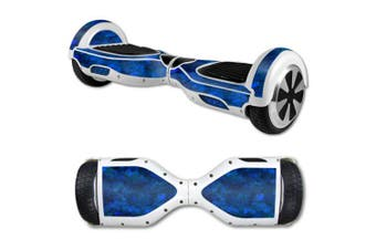(Blue Ice) - MightySkins Protective Vinyl Skin Decal for Hover Board Self Balancing Scooter mini 2 wheel x1 razor wrap cover Blue Ice