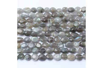 (Labradorite) - Love Beads Labradorite Stone Beads Irregular Loose Gemstone Beads 8-11mm for Jewellery Making