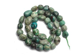(Chrysocolla) - Love Beads Stone Beads Irregular Loose Gemstone Beads 8-11mm for Jewellery Making (Chrysocolla)
