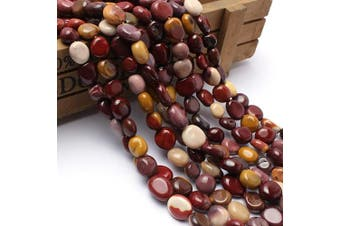 (Mookaite) - Love Beads Mookaite Stone Beads Irregular Loose Gemstone Beads 8-11 mm for Jewellery Making