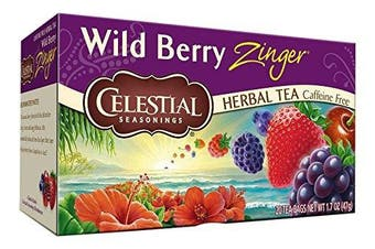 Celestial Seasonings Wild Berry Zinger Tea Bags - 20 ct