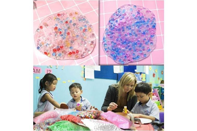 Slime Stuff Slime Add Ins Fish Bowl Beads Pastel Floam Beads Ingredients Mermaid Unicorn Slime Charms Glitter Jar Slime Kit for Girls for Boys .80 PCS