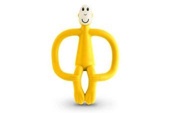 (Yellow) - Matchstick Monkey Teething Toy - YELLOW