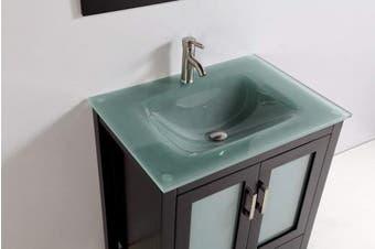 (Big Popup Cap, Brushed Nickel) - Brushed Nickel Pop Up Sink Drain without Overflow, Bathroom Faucet Vessel Sink Drain Stopper