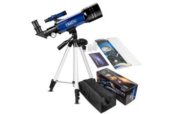 (A) - EMARTH Telescope for Kids Beginners Adult, 70mm Astronomical Refractor Telescope with Adjustable Tripod & & Finder Scope- Portable Travel Telescope Perfect for Kids Children Teens