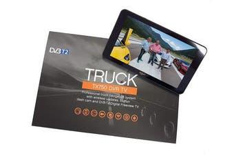 Aguri Truck TX750 DVR TV Truck Sat Nav with Digital TV, Dash Cam and UK & Ireland mapping.