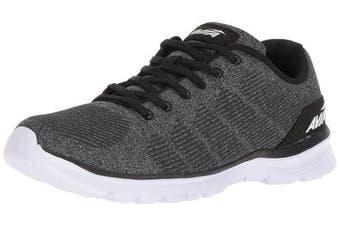 (12 D(M) US, Black/Iron Grey/White) - Avia Men's Avi-Rift Running Shoe
