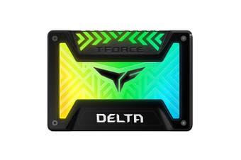 Team Group Delta RGB SSD (Magnificent Version) Black 250GB SATA III 6.4cm Internal Solid State Drive