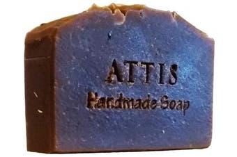 ATTIS Handmade Espresso | Cinnamon Shampoo Bar | with Coffee powder and Clove Essential Oil | Vegan