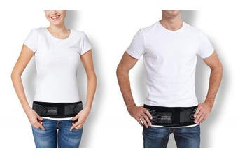 """SI Lock Support Belt - Sacroiliac SI Joint SI-LOC Belt for Sciatica Nerve Pain. Adjustable Compression Wrap Brace for Hip, Lower Back, Lumbar, Herniated Disc, Pelvic Instability (30"""" - 45"""" Hip Size)"""