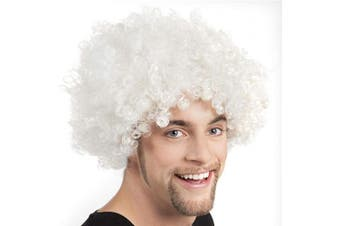 (White) - Boland Afro Adult Wig One Size