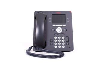 Avaya 9611G GLOBAL Desk Phone - Black (Certified Refurbished)