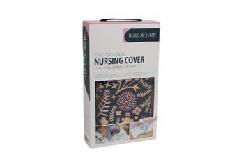 (Haven) - Bebe au Lait Premium Cotton Nursing Cover, Lightweight and Breathable Cotton, Open Neckline, One Size Fits All - Haven