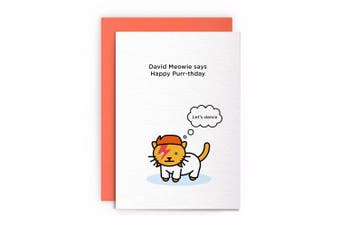 Cat Funny Rude Humorous –LET'S DANCE– Birthday Card Greeting Card Friends Joke Naughty For Him For Her