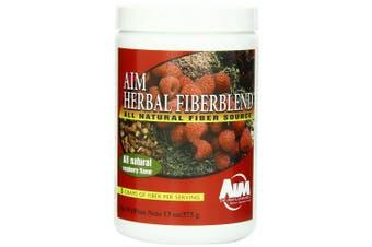 (1 Pack) - AIM Herbal Fiberblend Raspberry Powder 380ml