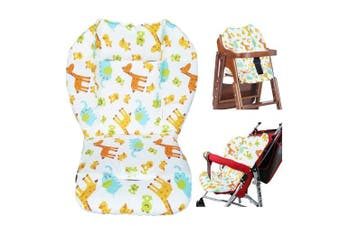Baby Stroller/Car/High Chair Seat Cushion Liner Mat Pad Cover Protector Animal Breathable