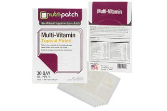 Multi-Nutrients Topical Patch from Nutri-Patch