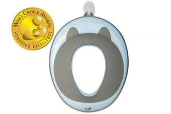Potty Training Seat (Mom's Choice Award Winner) for Kids , Toddlers & Infants - Portable Ring Chair for Round/Oval Toilets - Safe, Durable, Non-Slip with Urine Guard | Bonus 2 Hooks & Safety Lock