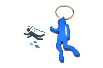 (Diver) - Acecamp Munkees Keychain Bottle openers 5pcs Beer openers Can Openers Pocket Colourful Sports Key Chain Ring