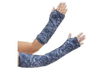 CastCoverz! Designer Arm Cast Cover - Evening Lace - Medium Short: 28cm length X 23cm circumference - Removable and Washable - Made in USA …