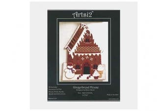 Artsi2 Wool Felt Kit Gingerbread House