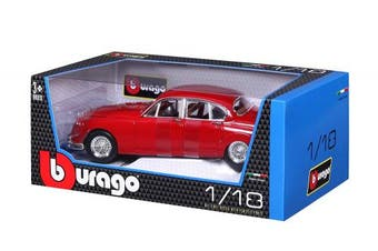 Jaguar Mark II Saloon 1959 Diecast Car (Assorted Colours)