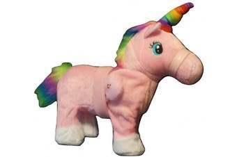 Battery Operated Remote Control Walking/Dancing Rainbow Unicorn | Pink Pony Toy