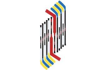 (Regular, Blue) - Cosom Senior Plastic Hockey Sticks for Floor Hockey and Street Hockey, High School Physical Education Equipment, Plastic Hockey Equipment for Practise and Training
