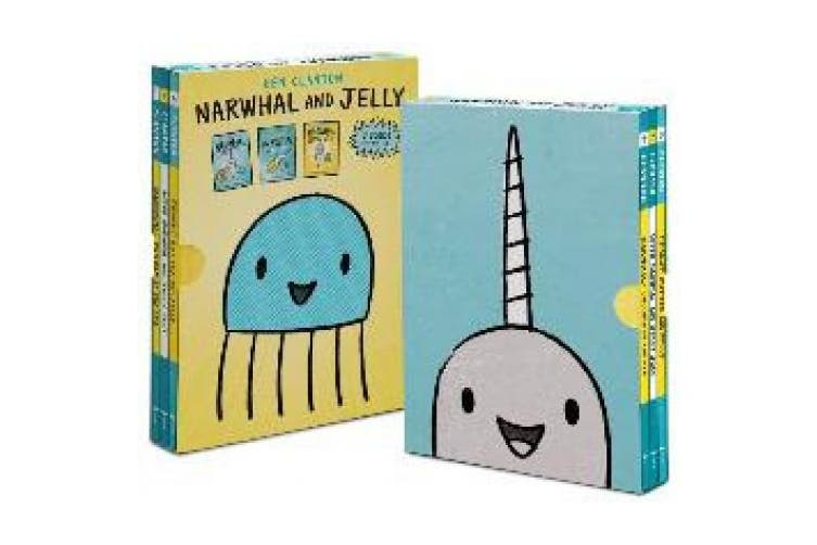 Narwhal and Jelly Box Set (Books 1, 2, 3, and Poster) (Narwhal and Jelly Book)