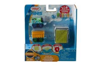 Thomas & Friends Minis Fizz 'n Go Cargo, Percy & Alien n, Multi Colour