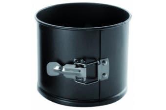 (16 x 16 x 10 cm) - IBILI Panettone springform Mould 16x10 cm, Rolled Steel Plate, Black, 16 x 16 x 10 cm