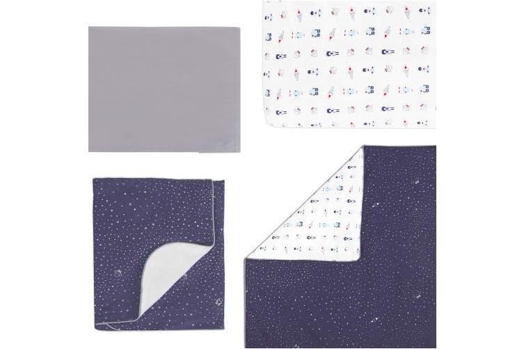 Babyletto Mini Crib Sheet, Galaxy