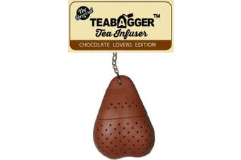 The TeaBagger Tea Infuser Funny Adult Gag Gift Novelty Gifts For Men and Women Stocking Fillers (Brown)