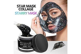 Starry Mask, New Star Face Facial Mask, Peel Off Facial Mask, Glitter Star Facial Mask, Moisturising Deeply Cleaning Peel Off Face Mask
