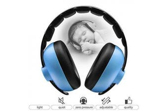 (blue) - BBTKCARE Baby Ear Protection Noise Cancelling Headphones for Babies for 3 Months to 2 Years (Blue)
