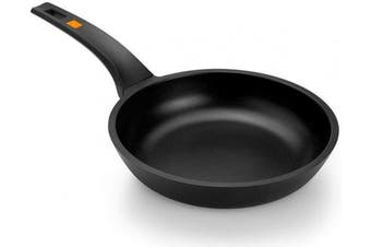 (20 cm) - Braisogona Efficient Aluminium Frying Pan, 20 cm, Cast, Black